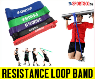 Sportsco Resistance Loop Band is a high quality resistance to get in Singapore