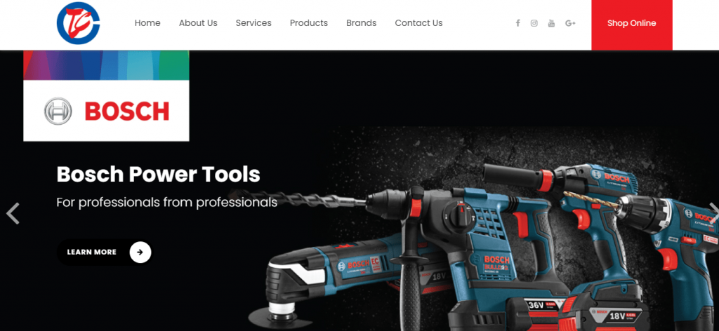 Teck Cheong Hardware is a trusted Hardware Stores Singapore - one of the top 10 Best Hardware Shops for DIY bosch power tools