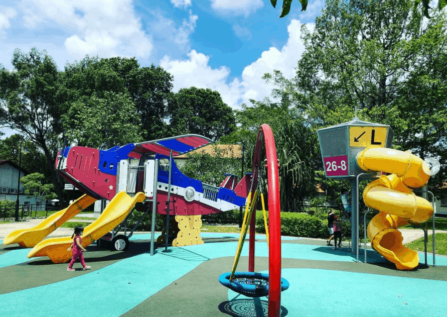The Oval at Seletar Aerospace Park is a playground near you in Singapore, free outdoor playground singapore, playground for toddlers  singapore,outdoor playground for kids best outdoor playground, best playgrounds in singapore this year, playground in singapore, Top 12 soft play areas for babies in Singapore,