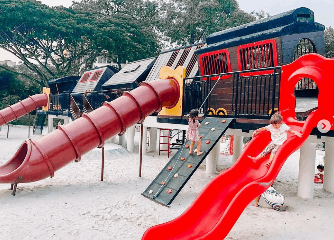 Tiong Bahru Park is the Top 10 must-visit Outdoor Playgrounds in Singapore best Free playground Singapore