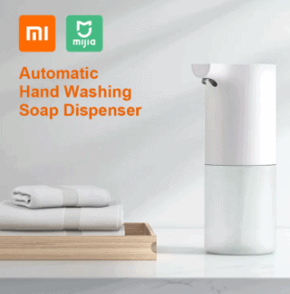 Xiaomi Mijia Automatic Induction Foaming Handwasher Wall mounted Soap Dispenser singapore Soap Dispenser - Non-Touch Hand Hygiene Service