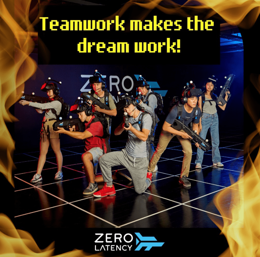 Zero Latency is top 9 Arcades In Singapore To Relive Your Childhood Days, like laser mania, VR games, team bonding, Zero Latency VR Gaming - High Intensity VR Experience