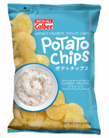 Calbee Potato Chips is top 10 Potato Chip Brands In Singapore we tasted, Potato Chips, Potato Chips, Potato Chips Crisp · Kataage Potato, Pizza Potato,  calbee potato chips seaweed, hot and spicy