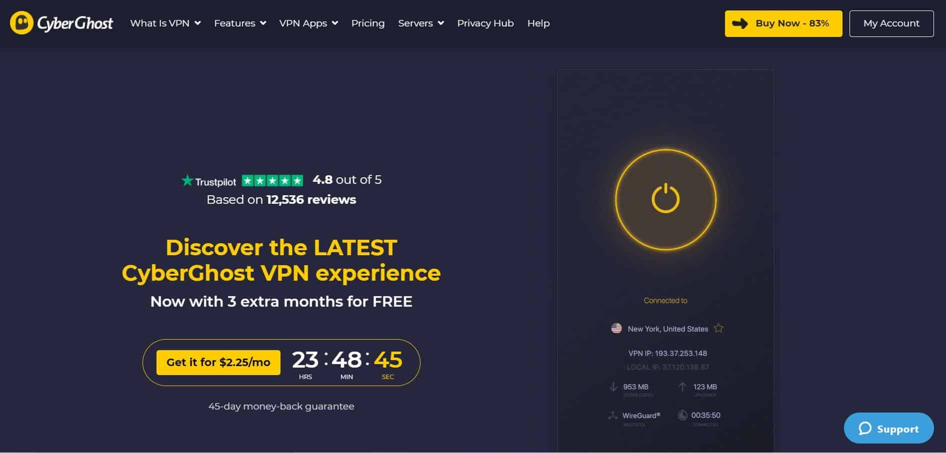 CyberGhost VPN is VPN Singapore Reviews this year - The Best & Worst, How Legal is using a VPN in Singapore in 2021, How to start using VPN Singapore? — Best Choice for Netflix Vpn in Singapore, vpn for US sites