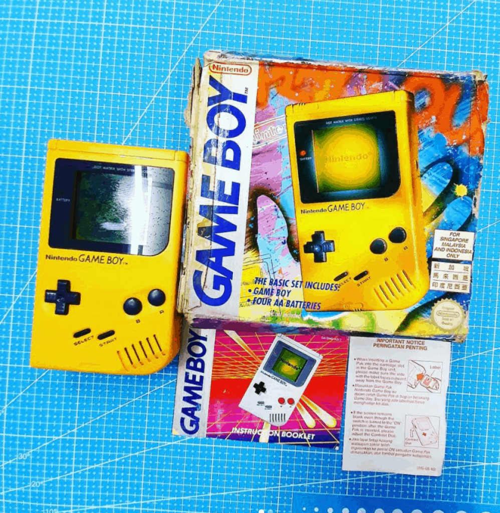 Retro Nuts is an awesome videogame shop in Singapore where you can still find 90s games, games console, nintendo game boy, sega saturn, 1, #03-41 Rochor Canal Rd,
