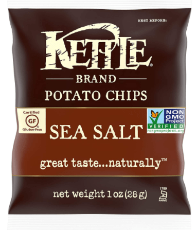 Kettle Brand Potato Chips are the best in Singapore, Are Kettle Brand Potato Chips Healthy? Who makes Kettle brand potato chips? kettle chips are actually part of the campbell soup group, though chips are not as healthy since most of them are fried or baked, but kettle baked chips are the most healthy among all the chips