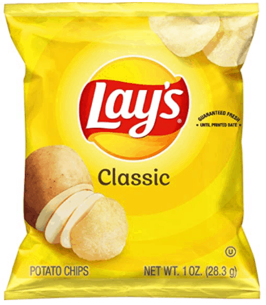 Lay's Potato Chips are Must-try potato chips in Singapore, Frito-Lay, What are Lays potato chips made of? potatoes, vegetable oil and salt, walkers, crisps