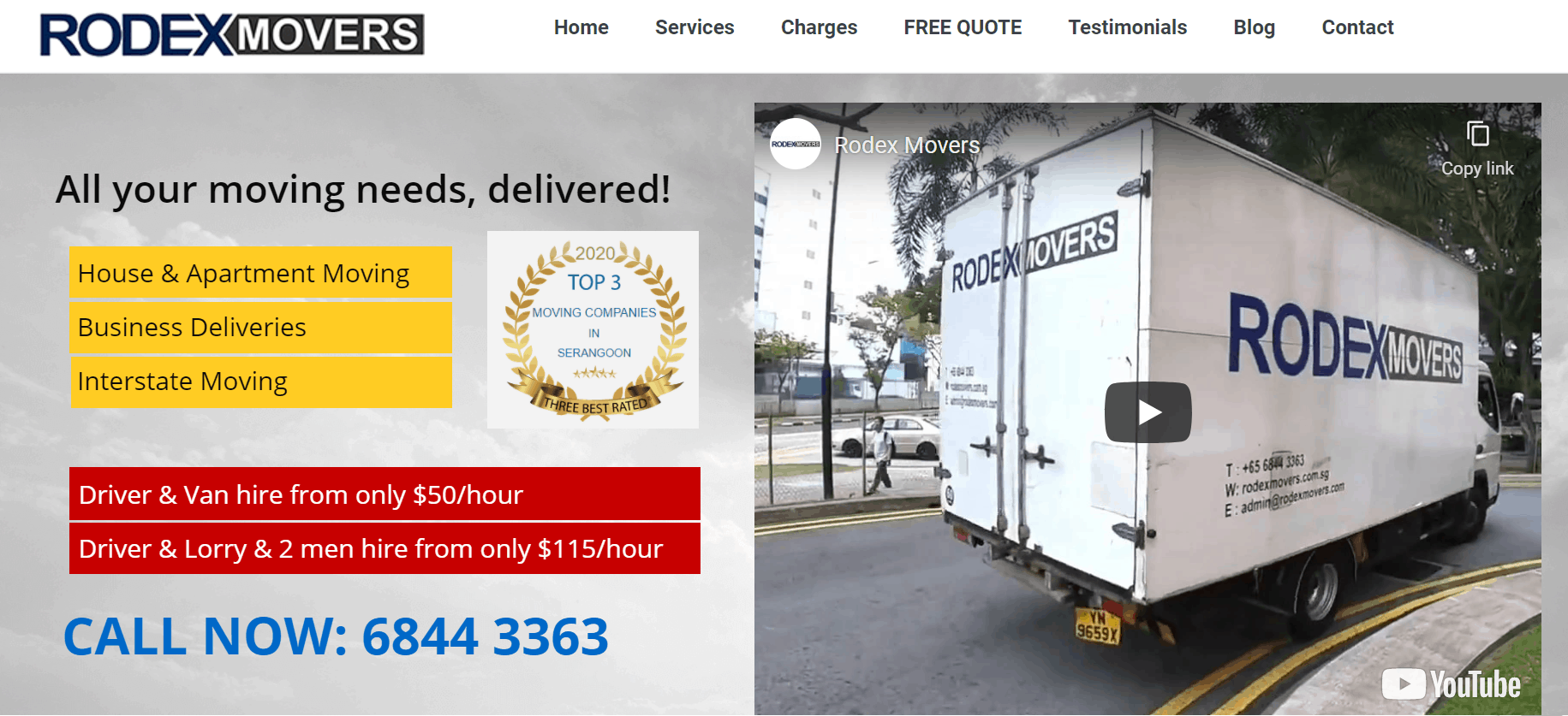 Rodex Movers is The Best Movers in Singapore, Cheapest Storage in Singapore. - All Storage and Moving Needs