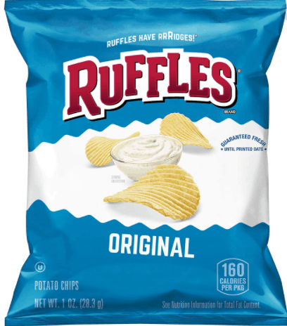 Ruffles Potato Chips are salted classic, thicker, sturdier potato chips, 10 awesome Potato Chips Flavours That You Can Get In Singapore