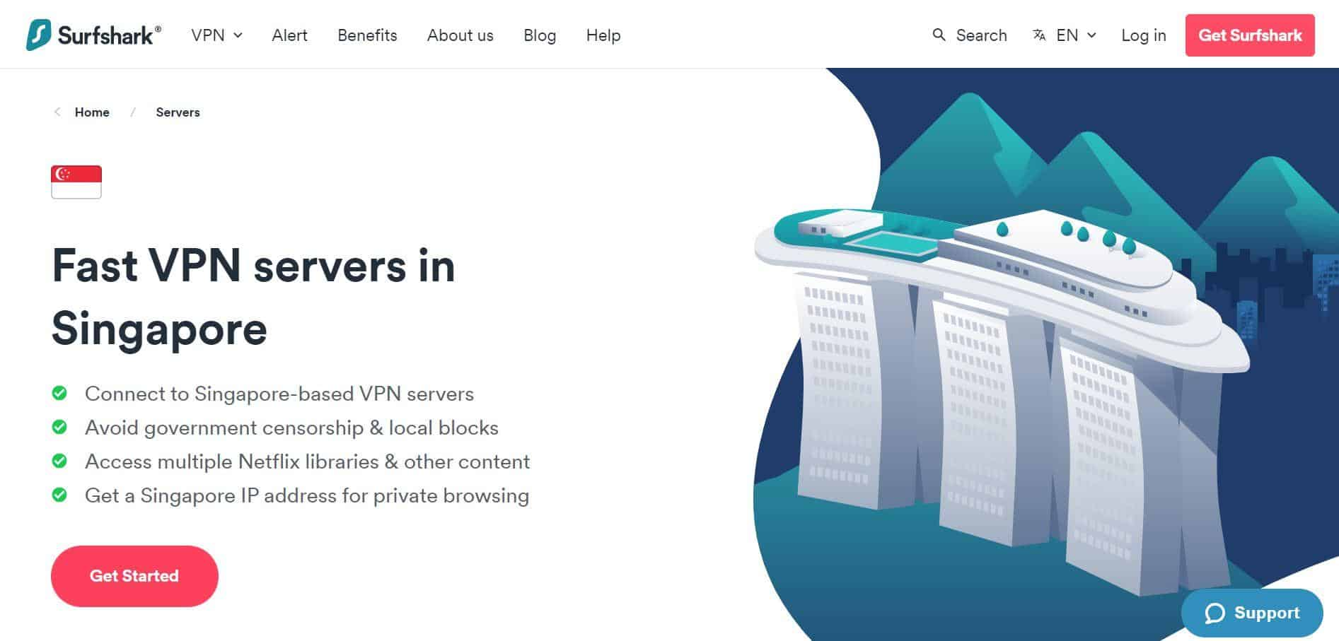 Surf Shark VPN is best in Singapore, Download Singapore VPN - Free, Fast Secure VPN Proxy, Singapore VPN server list, best vpn singapore reddit, VPN recommendation for Singapore