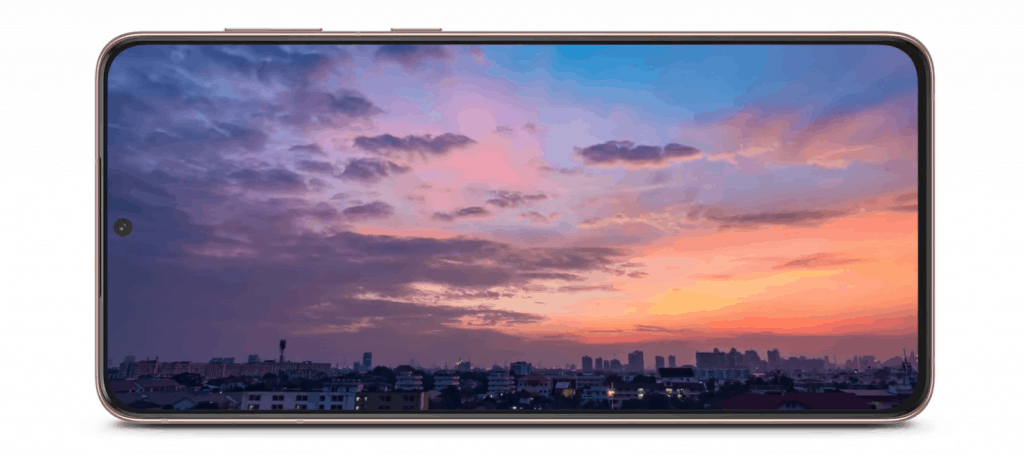 What kind of screen does the S21 have? Galaxy S21 5G review Singapore for Premium features, compact size we love. 6.2-inch Dynamic AMOLED display with 120Hz refresh rate and HDR10+ support. this is a new screen technology that provides vivid cinema-grade color and contrast.
