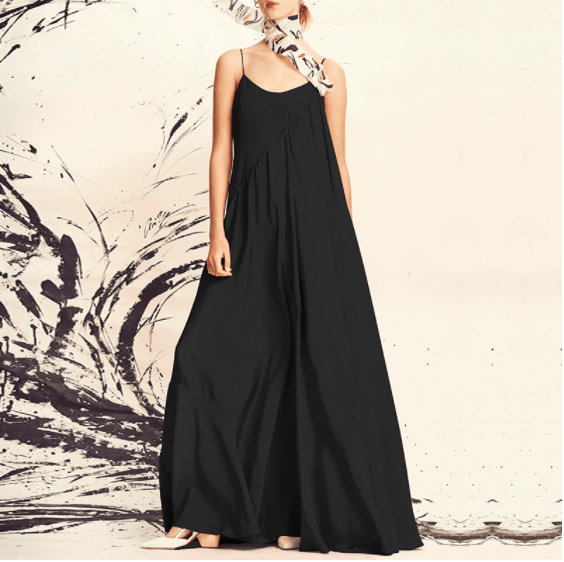 Where To Buy Plus Size Clothes In Singapore, Casual Sleeveless Plus Size Midi Dress for big sized ladies, clothes for fat women in Singapore, Cotton On plus Size