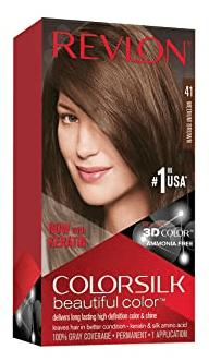 Which DIY hair dye The best? Revlon Colorsilk Hair Dye DIY hair dye is The best, Colorsilk Beautiful Color™ Permanent Hair Color looks natural and smooth, can last for a few months