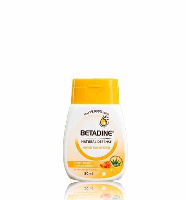 Betadine Natural Defense Moisturizing Manuka Honey Hand Sanitizer is 10 Best Hand Sanitizers in Singapore 2021, eliminate 99.999% of Germs without water. Rinse free. Gentle Formulation With manuka honey and combined with the goodness of moisturising organic aloe vera, Which company is best for sanitizer? where can I buy hand sanitizer in Singapore? you can buy sanitiser online on shopee lazada or amazon