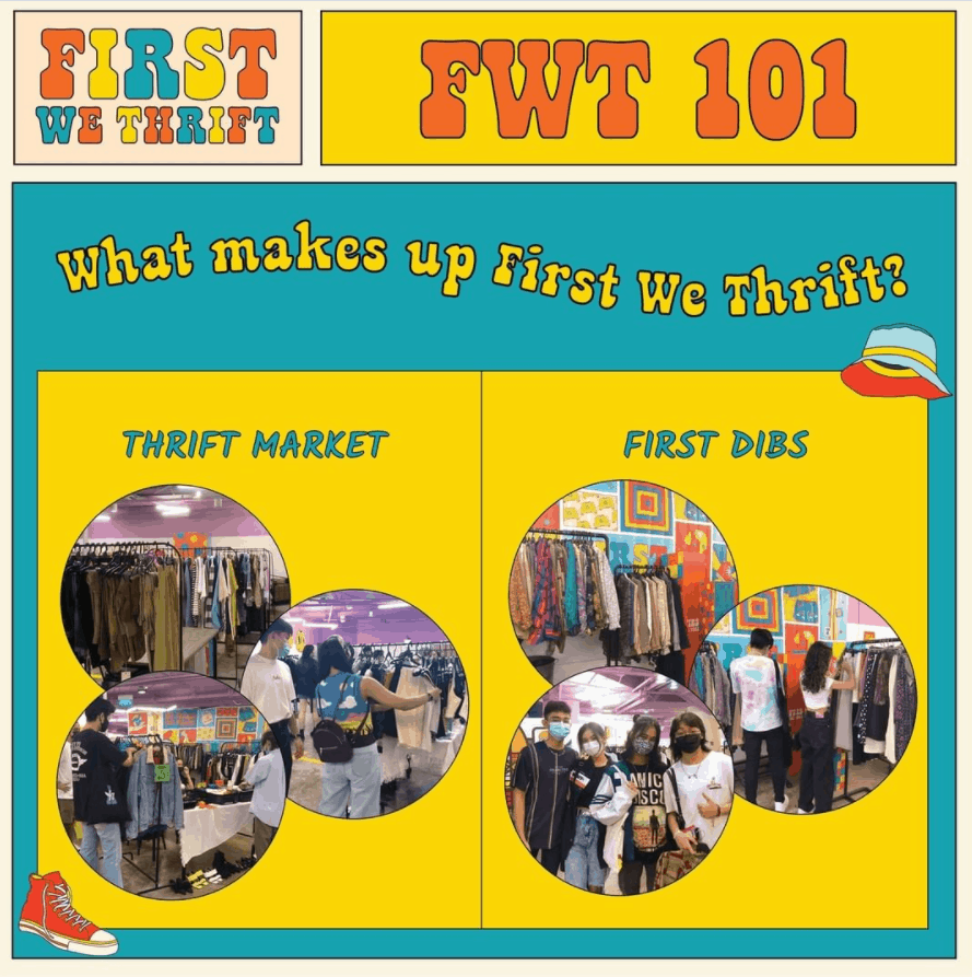 First We Thrift is the best place to score the best vintage fashion in Singapore, all-inclusive eco-friendly thrift market that allows youth to sell stuff, handmade, Preloved and Brand New clothes/bags/shoes at this flea market