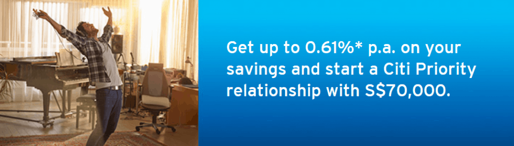 CITI MAXIGAIN SAVINGS ACCOUNT is recommended savings account in Singapore, Compare Affordable Savings Account this year, Which bank account is best for savings, What are the 4 types of savings accounts?