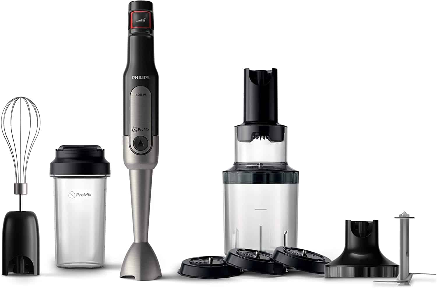 Philips Viva Collection ProMix Hand Blender is the 10 Best Handheld Immersion Blender in Singapore, this hand blender comes with a variety of accessories helps you create endless healthy snack and meal options, best immersion blender consumer reports, all-clad immersion blender
