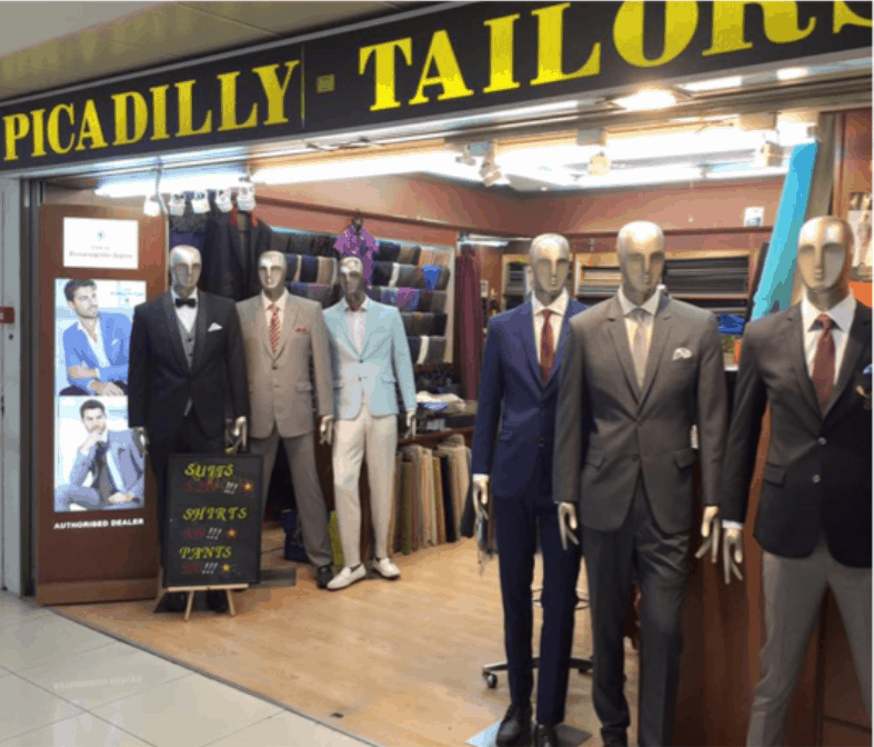 Picadilly Tailors is the top 10 Affordable Tailors in Singapore, Who is the best tailor in Singapore? How much is a cheap tailored suit?, a cheap tailored suit is around $250. Where can I get a good suit for cheap?, Suit tailoring in Singapore