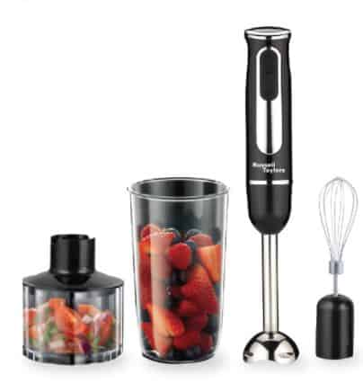 Russell Taylors Multifunction Hand Blender Food Processor HB-6 is 10 Best Handheld Immersion Blender in Singapore 2021 2022 2023, Is a hand blender the same as an immersion blender? Which hand blender does Nigella use?