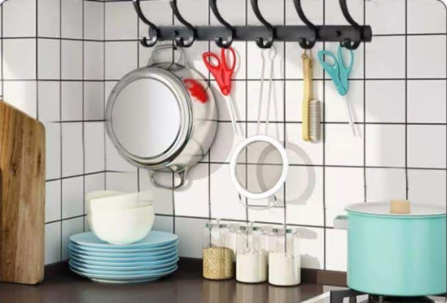 Wall Hooks and Rack is Essential Household items for Storage and Organizer, Essential Household Items to Get in Singapore 2021, What are essential household items? What every home needs checklist?, What are the essentials for a new home?, Wall shelves Wall Storage Hooks & hanger hooks