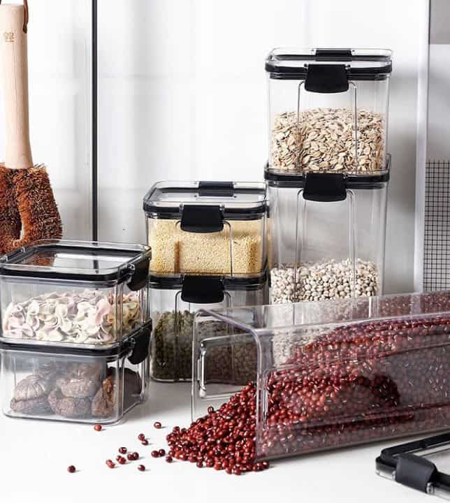 What can I buy for $10?, Kitchen Organizer Airtight Container is 13 Unique & Cool Things To Buy On Shopee for Cheap in 2021 2022 2023