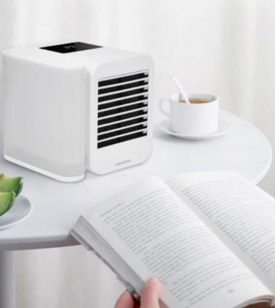 Xiaomi Microhoo USB Air Cooler Fan, How to Choose the Best Mini Air Cooler [Singapore Air Cooling Buying Guide] Do mini evaporative coolers work? it can offer quite a good respite and relief, Why portable air conditioners are bad? air cooler offers better air quality than an Aircon, Is air cooler worth buying?,99 Speed Touch Screen 3 In 1 Mini Water Personal Cooling Fan Timing Cooler Humidifier Type-C