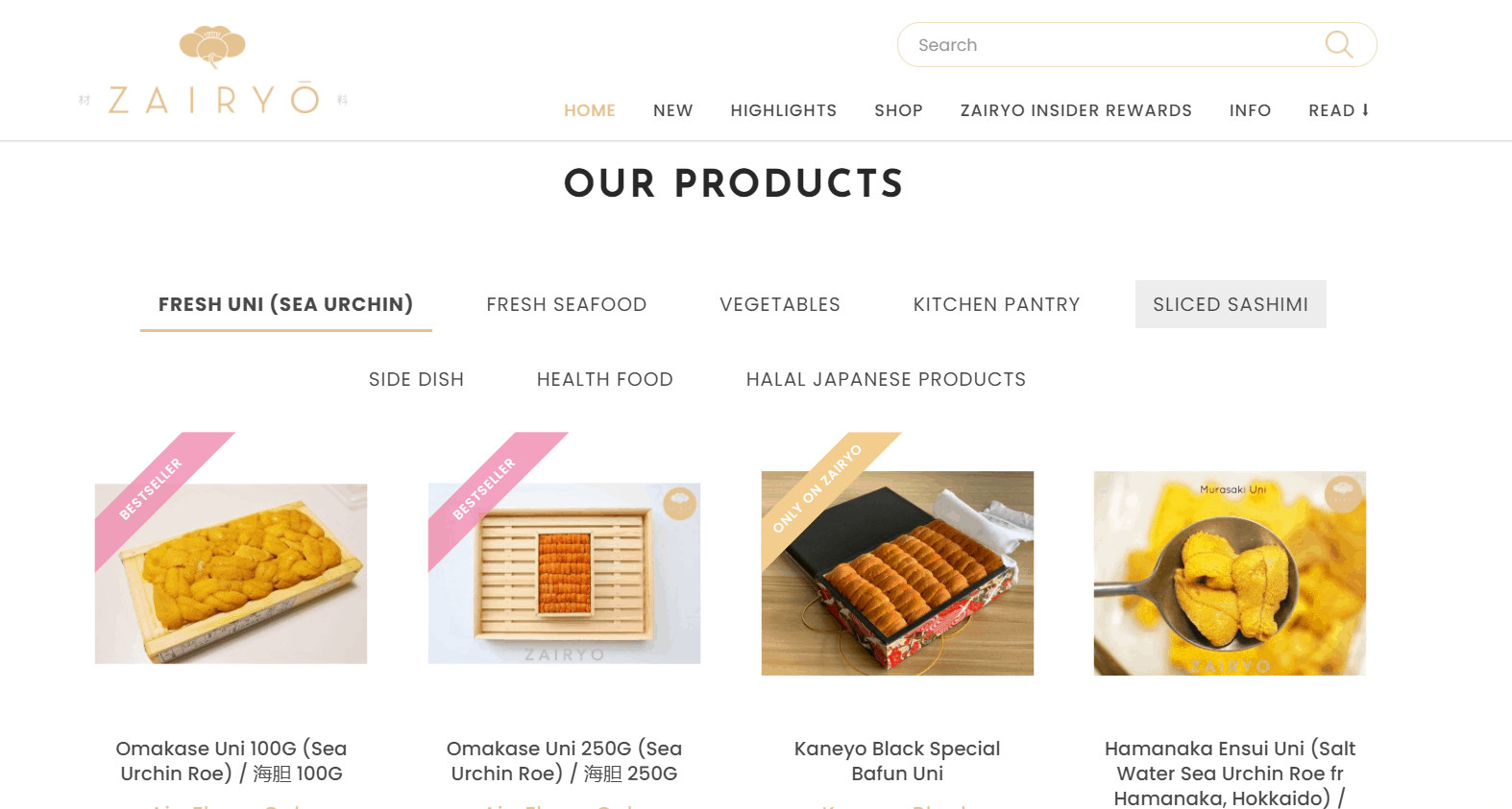 Zairyo Japanese Gourmet Grocer is top Japanese Supermarkets in Singapore we love, Where can I buy Japanese food online Singapore?, What can you buy at a Japanese grocery store?zairyo warehouse,zairyo promo code,zairyo review,zairyo self collection,zairyo first time order discount,fresh uni delivery singapore, japanese groceries singapore, japanese grocery delivery singapore