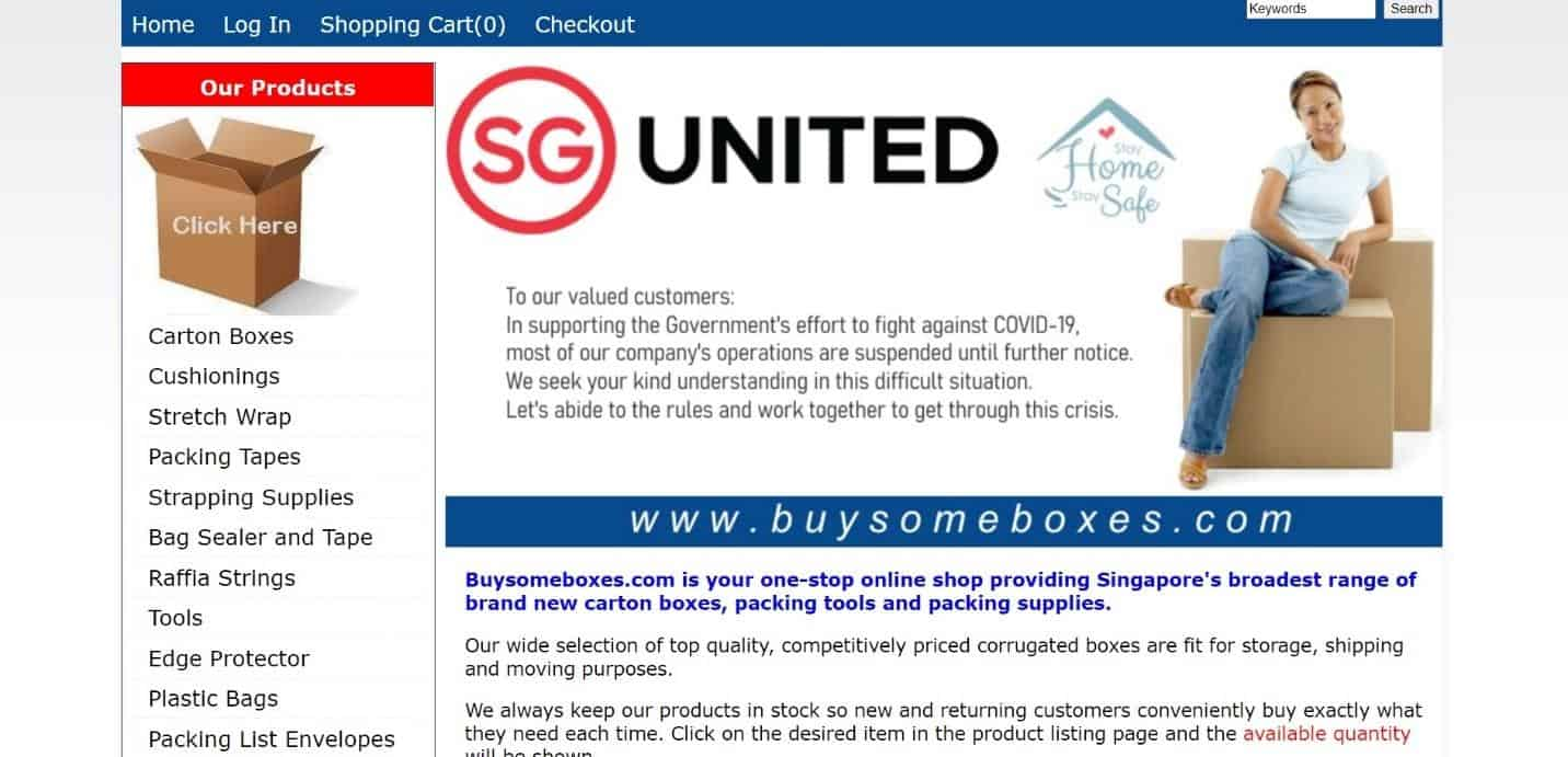 Buysomeboxes is a good carton box supplier, Online Ready Stock Carton Box - Reduce Goods Damage while moving, How do I start my own carton box business?, Where can I buy moving boxes in Singapore?, How much does it cost to manufacture a box? 1.5 cubic feet is a good moving box size