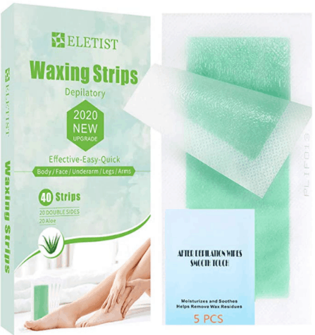 Eletist Facial Wax Strips are 10 best home waxing kits of this year, What are the best facial wax strips?, Do NADS Facial Wax Strips work?, Is it bad to wax your whole face?, Are wax strips bad?