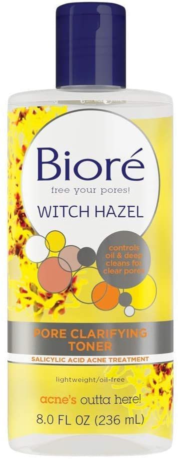 What skincare should a 14 year old use? Biore Pore Clarifying Toner 236mL is good skincare for 14 year old , Should a 15 year old use toner?, Is Toner good for teenage skin?Is Biore Toner good for your skin?, Is Biore witch hazel toner good for your skin?, How do you use Biore Pore Clarifying Toner?