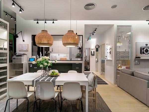 IKEA is a place to find Clever furniture for small spaces, cheap budget furniture, Space saving dining table Singapore, Cheap Small Space Furniture & Room Ideas Under $100, IKEA furniture for small spaces