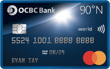 OCBC 90°N Card is Best Credit Cards to Earn Air Miles Comparison for OCBC Singapore, KrisFlyer miles, OCBC 90°N Card Review 2021, Enjoy Miles with No Expiry, Which is the best Miles card for you?
