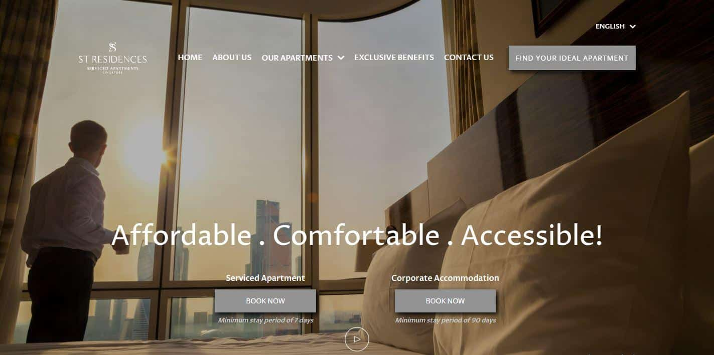 ST Residences is Best cheap Service Apartments for Short Term Residences, The Best Cheap Service Apartments in Singapore, Budget Service Apartments - Starting from S$2200/month