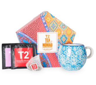 Tea Bags from T2 Tea Nomad is top 10 best gifts for sisters - Gift ideas your sister will actually want, easily upgrade her lifestyle, Gifts for sister Amazon Singapore