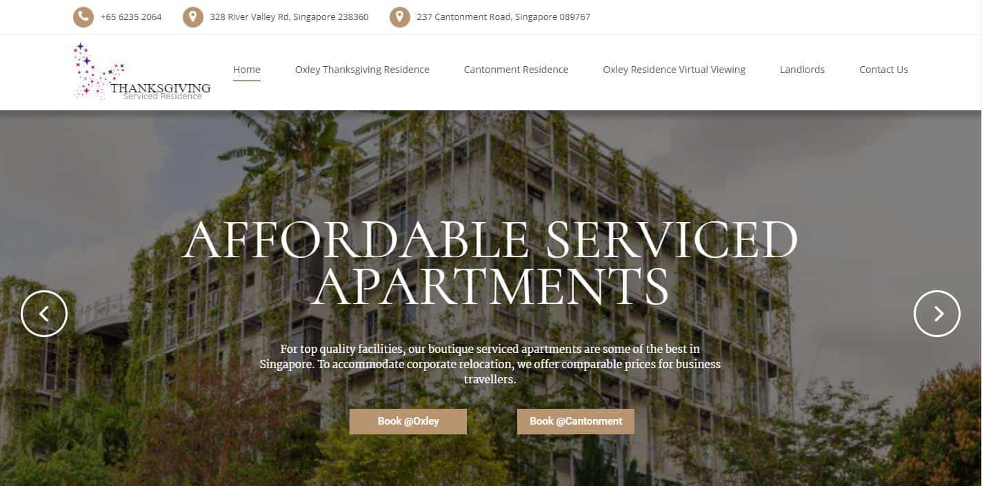 Thanksgiving Serviced Residence is Best cheap serviced apartment for Long Term Residences, Affordable Budget Corporate Serviced Apartment Rental In Singapore,  cheap serviced apartments singapore short term, budget serviced apartments singapore monthly, long-term serviced apartments singapore, cheap serviced apartments singapore short stay, service apartments in singapore for a week, 2 bedroom serviced apartment singapore