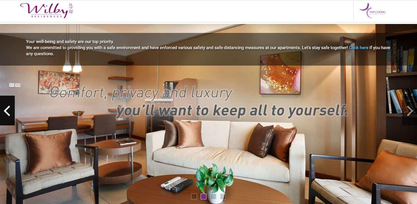 Wilby Residences is Top 10 Service Apartments to Stay in Singapore, Best Service Apartments for Business Stay, list of service apartment singapore