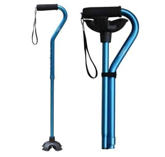 Adjustable Cane for Walking is top 10 gifts to make elderly life easier, gadgets for seniors who want to remain independent, what do seniors want most, useful things for elderly list