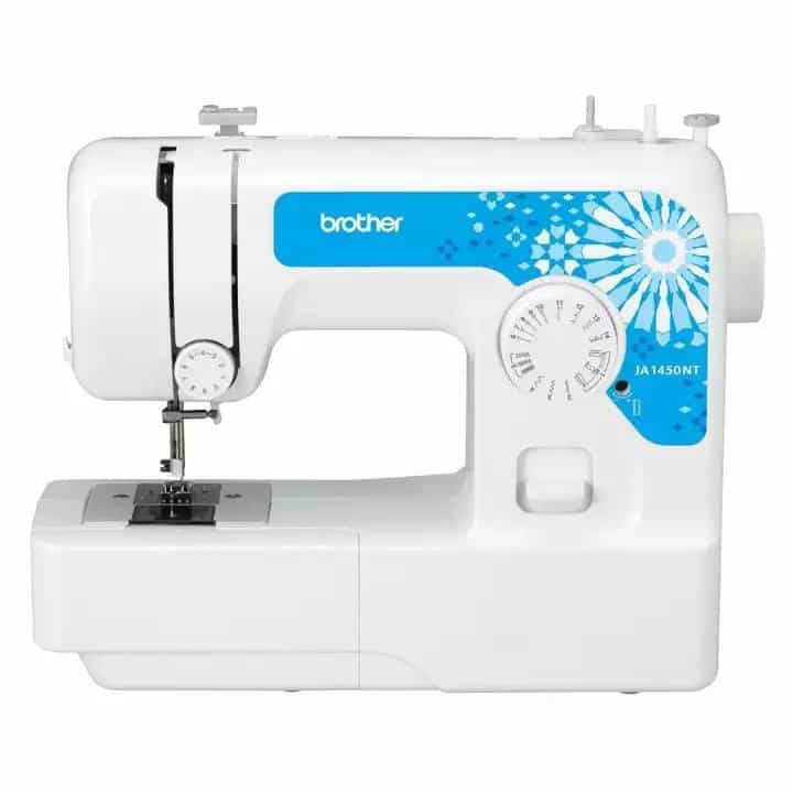 BROTHER Home Sewing Machine JA1450NT is the Best sewing machine for beginners, Which sewing machine is best for home use?, What's the easiest sewing machine to use?, How do I choose a beginner sewing machine?, Which sewing machine is easiest to sew clothings?, How much does a good sewing machine cost?, What are the four types of sewing machines?, What's better Singer or brother?, 10 Best Sewing Machines According to tailors and Textile Experts, The Best Sewing Machine Reviews,