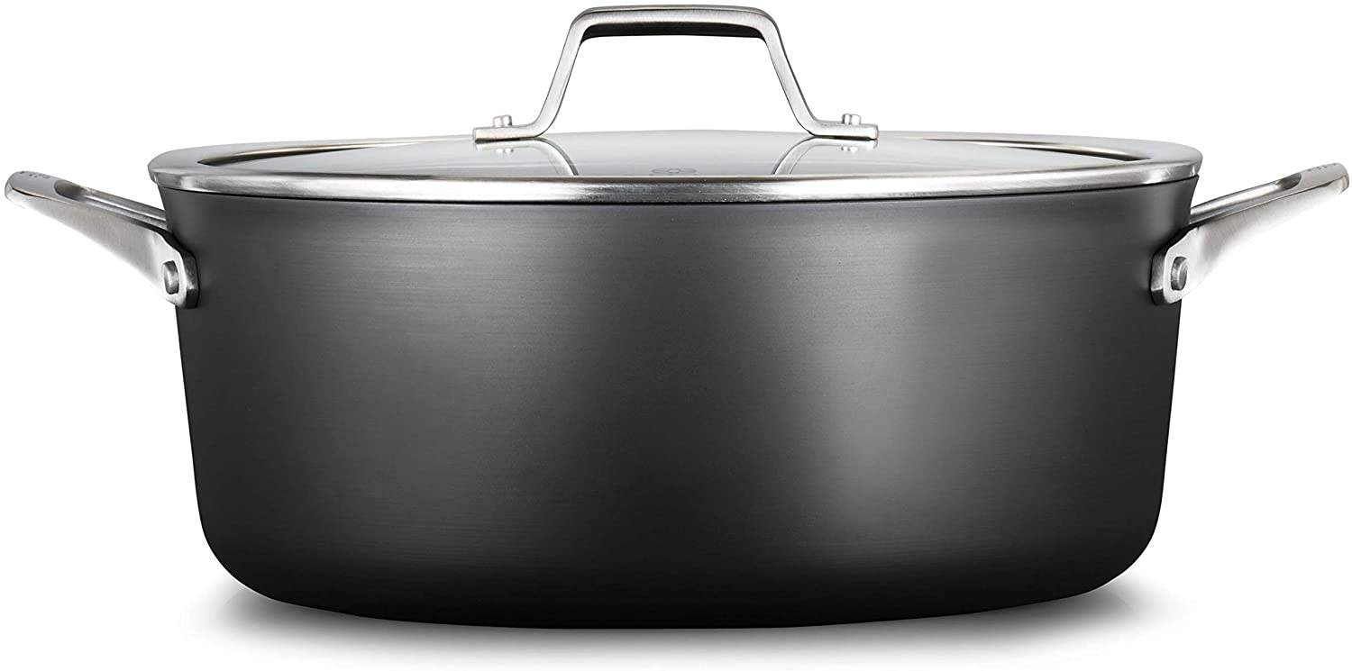 Calphalon Premier Hard-Anodized Nonstick 8.5-Quart Dutch Oven with Cover, Black is the Best Dutch Oven in Singapore, 10 Best Dutch Ovens in Singapore Less Than $400, What are the top 5 Dutch ovens?, What are the top 10 Dutch ovens?, Why is Le Creuset the best Dutch oven?, Is it worth buying a Dutch oven?, The Best Dutch Ovens for Baking, Braising, and Stew, Can I use a crockpot instead of a Dutch oven?, Why are Dutch ovens so popular?