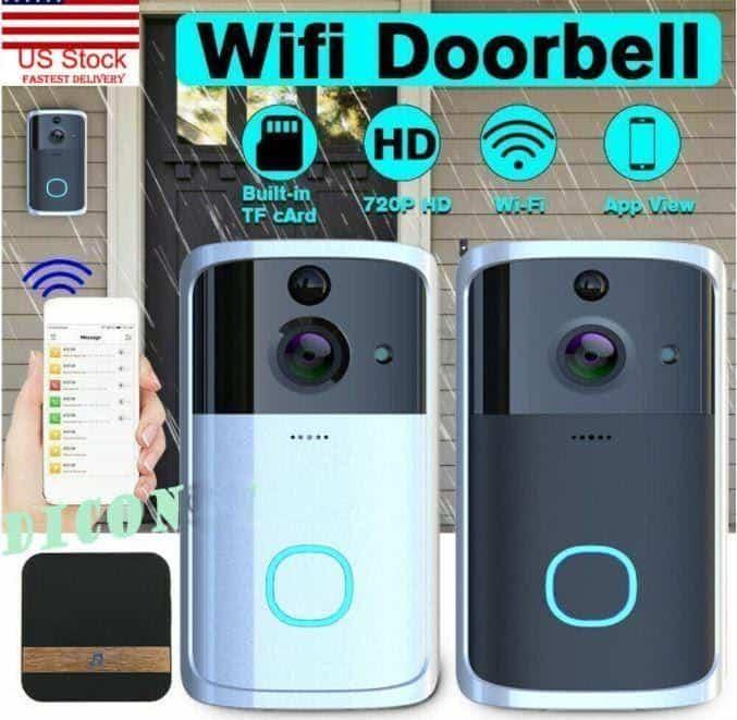 Dicona Wireless Wi-Fi IR Visual Camera Doorbell is top 10 Best Doorbell Cameras in Singapore,Where to Buy Doorbell in Singapore,wired doorbell singapore installation, wired doorbell singapore, smart door bell singapore, mechanical doorbell singapore, doorbell installation singapore, hdb door bell singapore, best doorbell singapore,