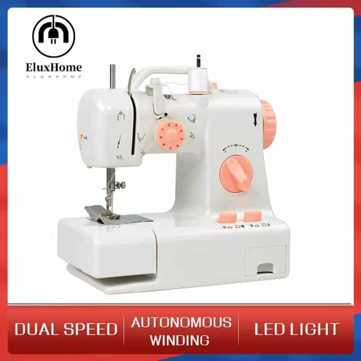 F09-0 Portable Mini Household Electric Sewing Machine Multifunction w Upgrade is the Best sewing machine for beginners, Which sewing machine is best for home use?, What's the easiest sewing machine to use?, How do I choose a beginner sewing machine?, Which sewing machine is easiest to sew clothings?, How much does a good sewing machine cost?, What are the four types of sewing machines?, What's better Singer or brother?, 10 Best Sewing Machines According to tailors and Textile Experts, The Best Sewing Machine Reviews,