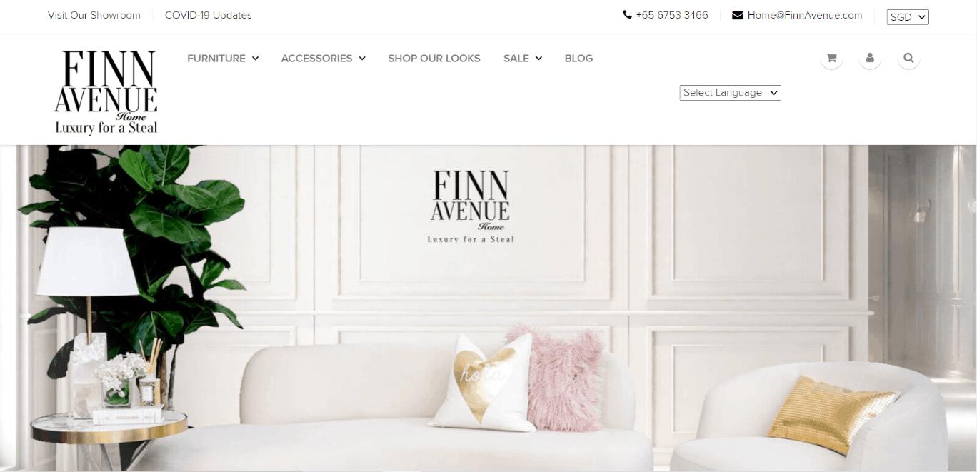 Finn Avenue is best Online Luxury & Designer Furniture Shop in Singapore, Furniture sale singapore, Exclusive furniture Singapore, Where can I buy luxury furniture in Singapore?, Where can I buy Scandinavian furniture in Singapore?