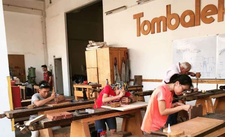 Furniture Making at tombalek is a Hands On Activity to do with Partner as 10 Interesting Workshops in Singapore To Relax On Weekends, THE 10 BEST Romantic Things to Do in Singapore for Couples