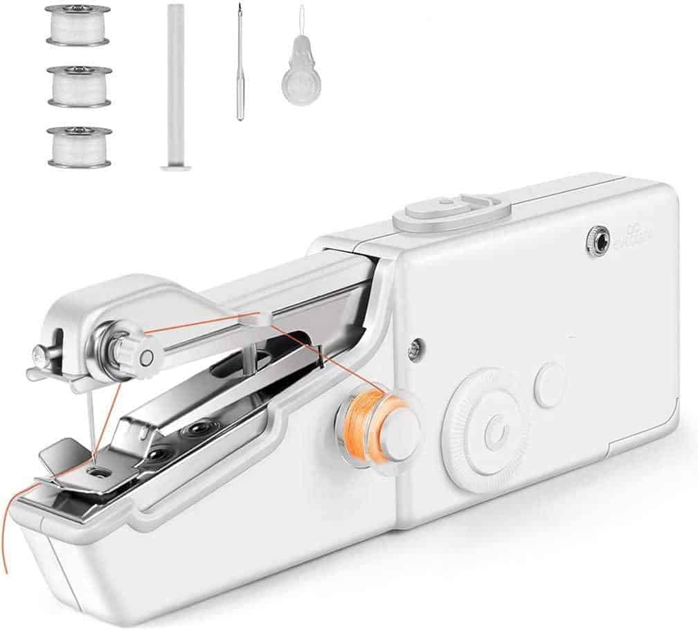 Handheld Sewing Machine is the easiest sewing machine to use, Best sewing machine for beginners, Which sewing machine is best for home use?, What's the easiest sewing machine to use?, How do I choose a beginner sewing machine?, Which sewing machine is easiest to sew clothings?, How much does a good sewing machine cost?, What are the four types of sewing machines?, What's better Singer or brother?, 10 Best Sewing Machines According to tailors and Textile Experts, The Best Sewing Machine Reviews,
