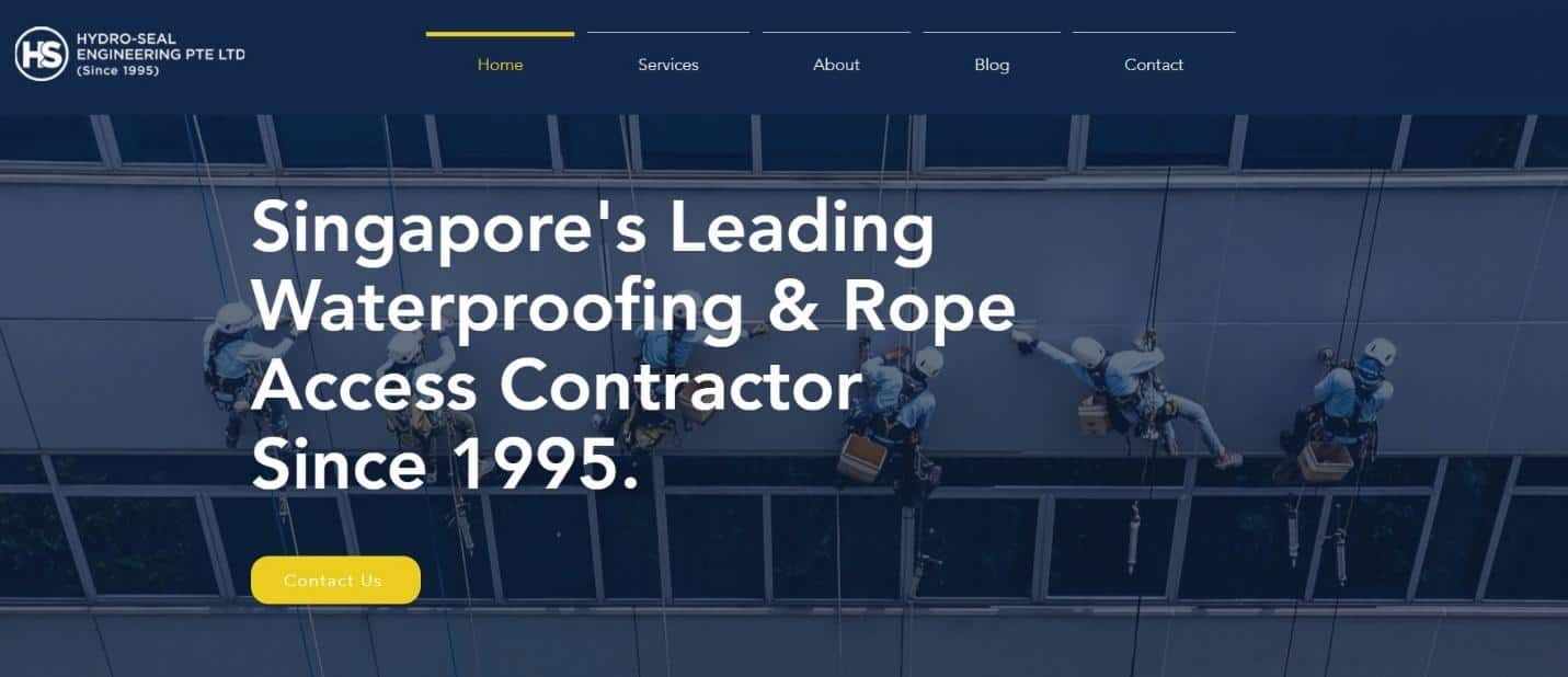 Hydroseal Waterproofing & Service is 10 Best Waterproofing Contractors in Singapore, Waterproofing Company In Singapore With Prices, best Waterproofing Contractor Singapore, Waterproofing Contractor Singapore Specialist,  top and leading specialist waterproofing contractor in Singapore,