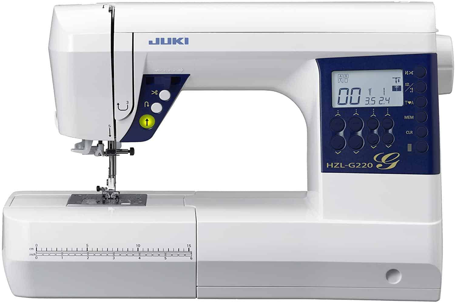 Juki HZL-G220 Sewing Machine is the Best sewing machine for home use, Which sewing machine is best for home use?, What's the easiest sewing machine to use?, How do I choose a beginner sewing machine?, Which sewing machine is easiest to sew clothings?, How much does a good sewing machine cost?, What are the four types of sewing machines?, What's better Singer or brother?, 10 Best Sewing Machines According to tailors and Textile Experts, The Best Sewing Machine Reviews,