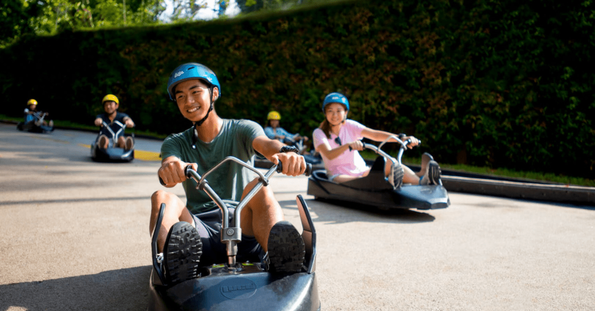 Skyline Luge Sentosa is The 10 Best Couple Hangouts in Singapore, check out these 10 best couple hangouts in Singapore, What can I do with my girlfriend in Singapore?, Where do couples go in Singapore at night?, Fun Things To Do in Singapore