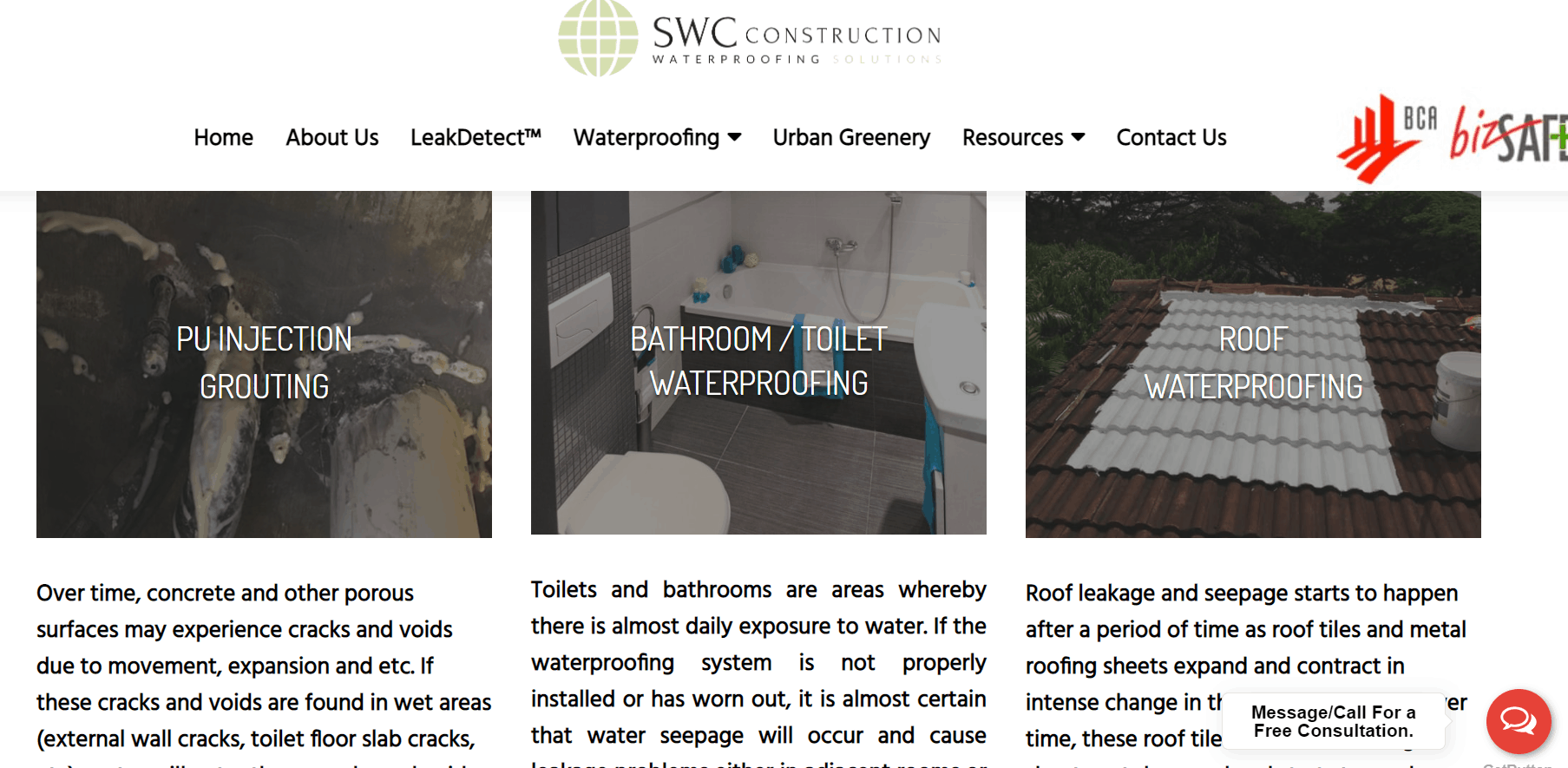SWC Construction Waterproofing Singapore is 10 Best Waterproofing Contractors in Singapore, Waterproofing Company In Singapore With Prices, best Waterproofing Contractor Singapore, Waterproofing Contractor Singapore Specialist,  top and leading specialist waterproofing contractor in Singapore,