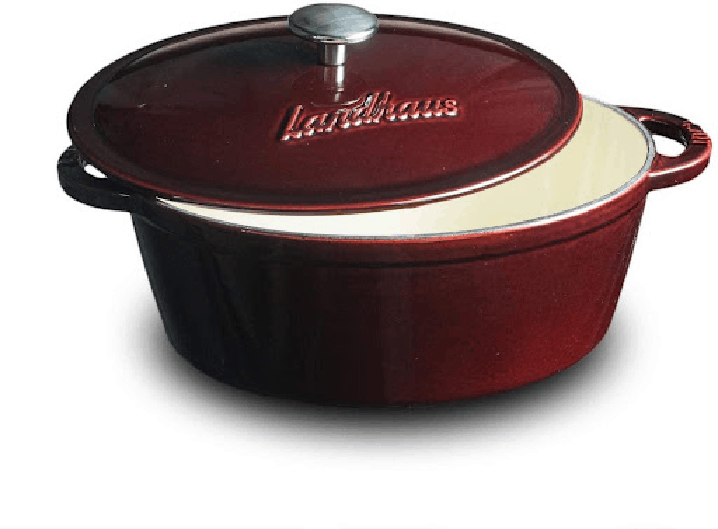 Landhaus Enameled Cast Iron Covered French Oven is The Best Dutch Oven for 2021 2022 2023, What are Dutch ovens good for?, Can you use a Dutch oven for everything?, What size Dutch oven is best for stews?, What is the best Dutch oven for cooking?, Every Home Cook Needs a Dutch Oven, The Best Dutch Ovens for Baking, Braising, and Beyond
